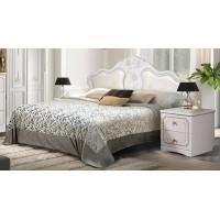 Кровать «1600 Мелани 1» (с мягким элементом)