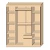 Шкаф для одежды «Верона»